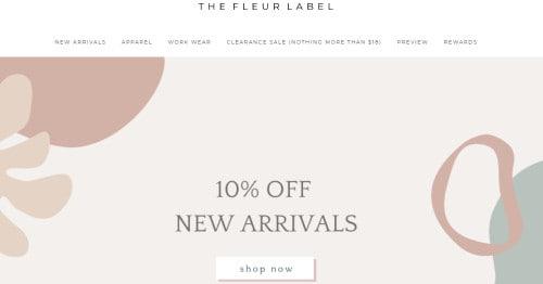 The Fleur Label